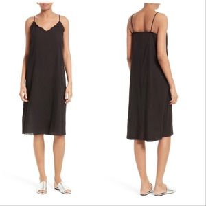 ATM Cotton Gauze Midi Slip Dress
